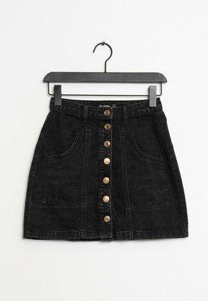 Jupe en jean - black