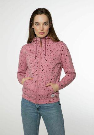 NXG TAMARS - Sweater met rits - berry melee