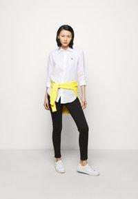 Polo Ralph Lauren - PIECE DYE - Button-down blouse - white - 1