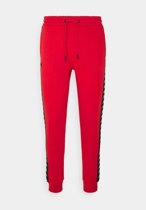 Tracksuit bottoms - aurora red