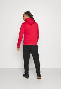 The North Face - DREW PEAK HOODIE - Felpa con cappuccio - rococco red - 2