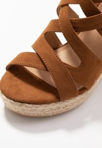 s.Oliver - High heeled sandals - cognac - 2