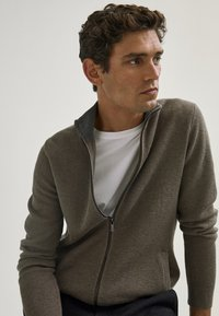 Massimo Dutti - Cardigan - light grey - 3