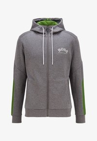 BOSS - SAGGY - Zip-up hoodie - grey - 3