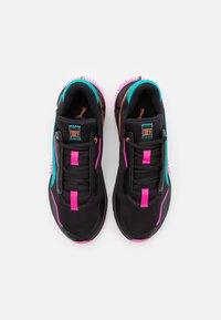 Puma - PROVOKE XT FM XTREME - Sports shoes - black/luminous pink/viridian green - 3
