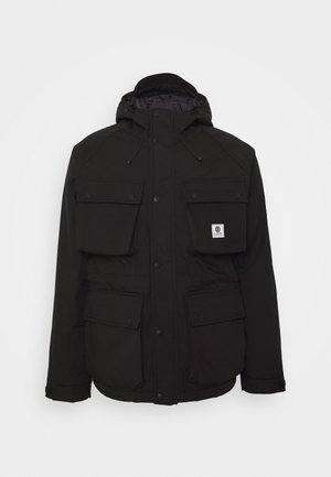 MOUNTAIN PARKA - Vinterjacka - flint black
