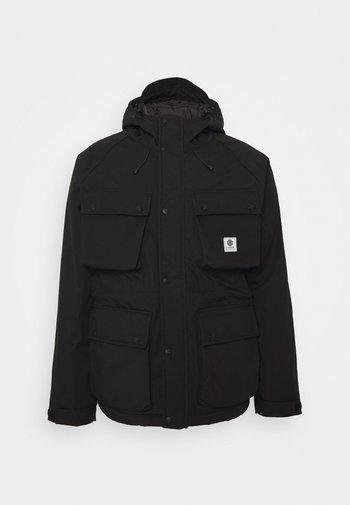 MOUNTAIN PARKA - Winter jacket - flint black