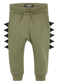 Next - KHAKI DINO SPIKE JOGGERS (3MTHS-7YRS) - Tracksuit bottoms - green - 0