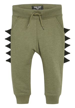 KHAKI DINO SPIKE JOGGERS (3MTHS-7YRS) - Tracksuit bottoms - green