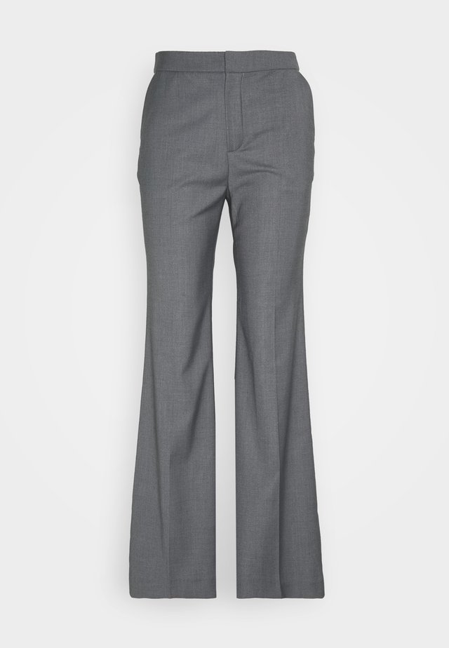 LUCINDA TROUSERS - Bukse - steel