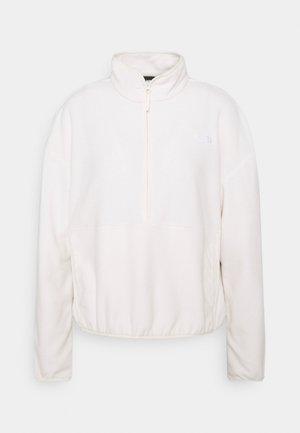 GLACIER CROP - Fleece jumper - gardenia white
