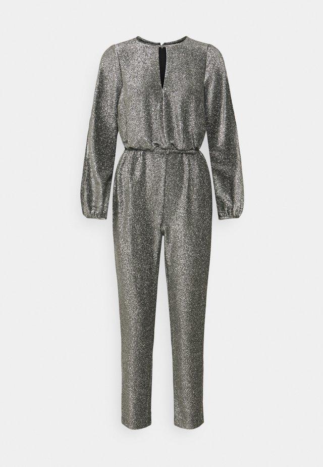 HYDE PARK - Jumpsuit - black/silver
