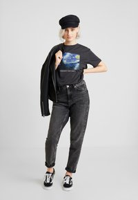 Even&Odd - T-shirt med print - anthracite - 1