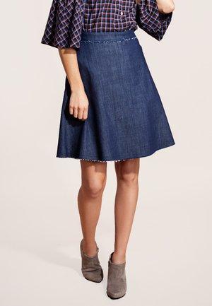 Denim skirt - navy