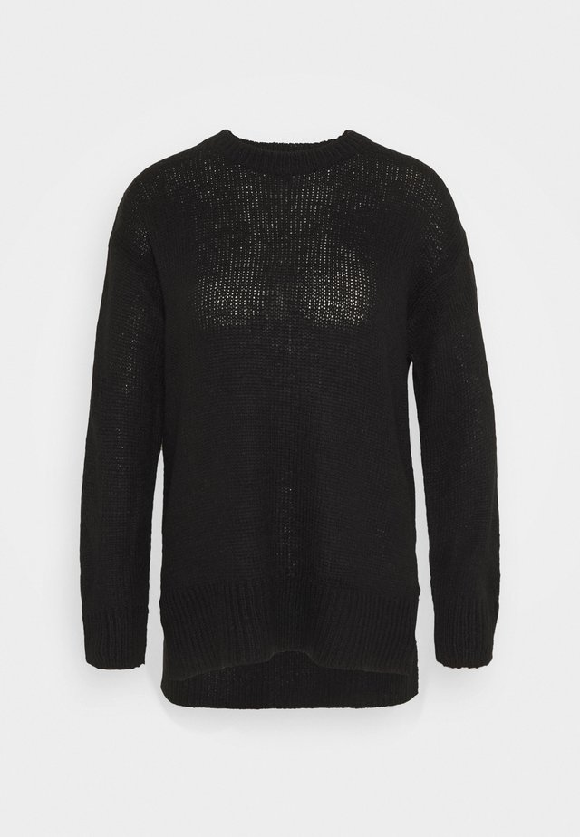 STEP JUMPER - Strikpullover /Striktrøjer - black