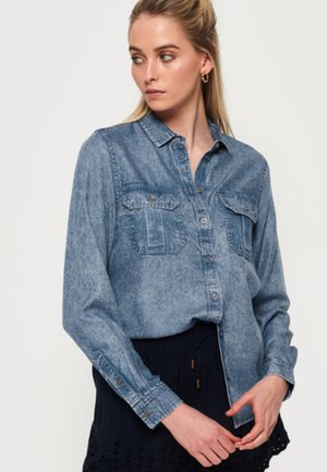 XENIA  - Button-down blouse - blue