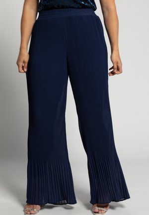 Trousers - violettblau