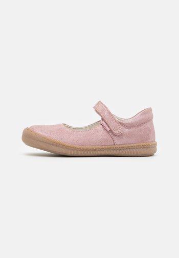 Ballerina's met enkelbandjes - light pink