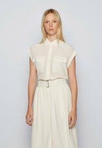 BOSS - Button-down blouse - natural - 0