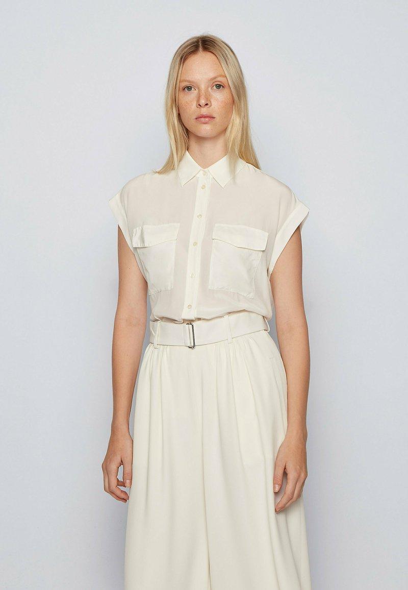 BOSS - Button-down blouse - natural
