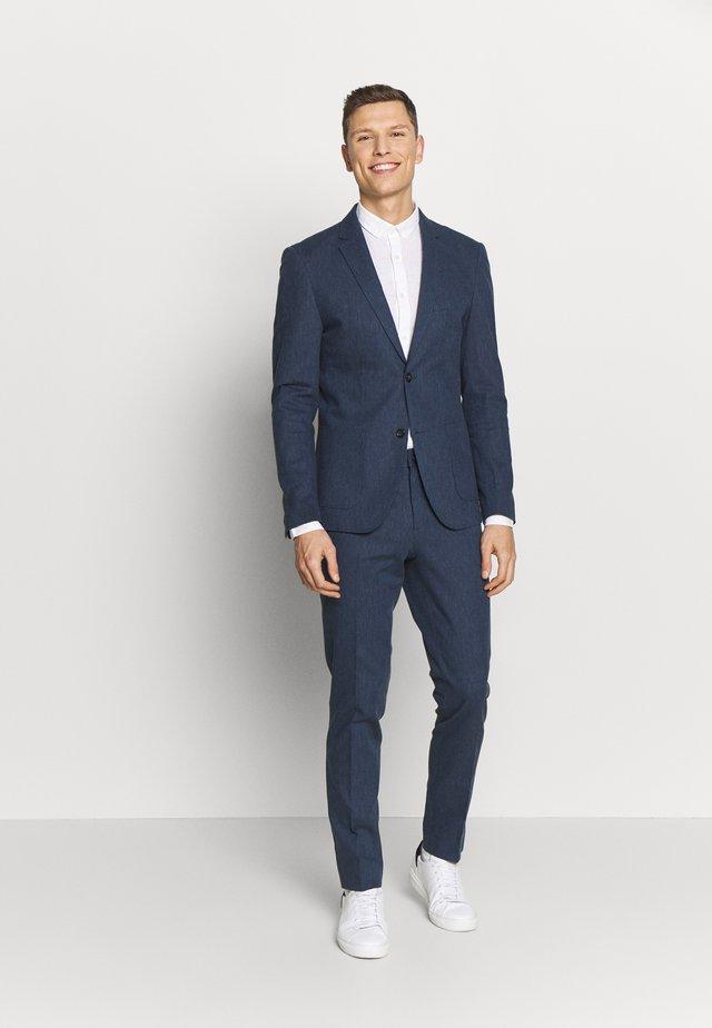 Suit - dark blue mix