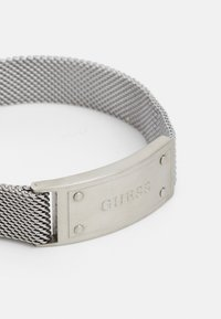 Guess - IDENTITY SHINY TAG UNISEX - Bracelet - silver-coloured - 2