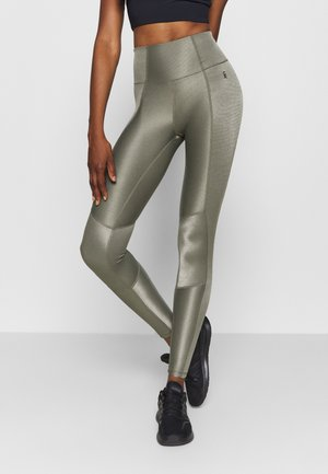 THE SHINY LEGGING - Leggings - sage