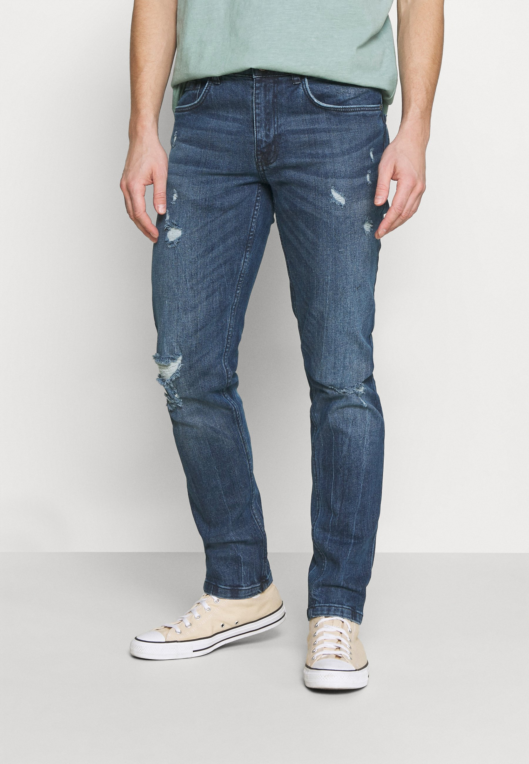 Men STOCKHOLM DESTROY - Straight leg jeans