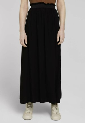 Jupe longue - deep black