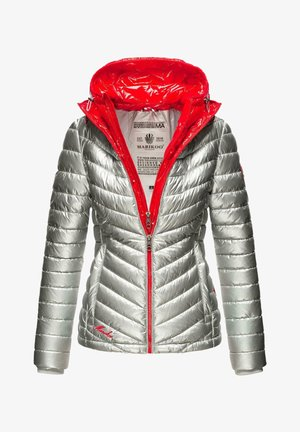 Winter jacket - silver/red