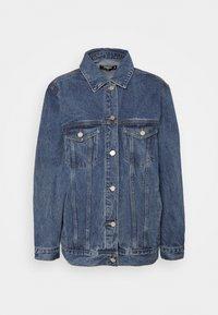 OVERSIZED JACKET - Short coat - indigo