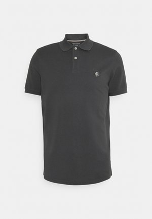 SHORT SLEEVE BUTTON PLACKET - Polo shirt - gray