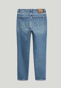 Massimo Dutti - Slim fit jeans - dark blue - 1