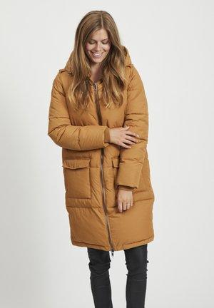OBJZHANNA LONG JACKET  - Winter coat - camel