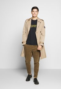 Esprit - LOGO - T-Shirt print - black - 1