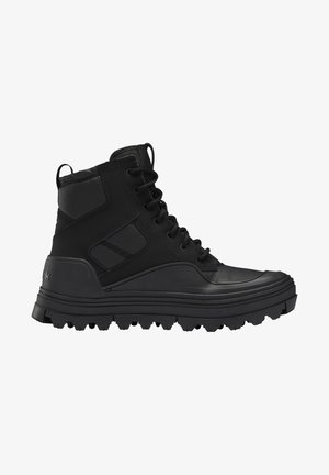 CLUB C CLEATED MID - Sneakersy wysokie - core black/core black/core black