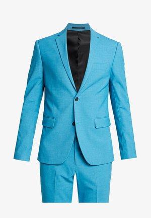 PLAIN MENS SUIT - Garnitur - turquoise melange