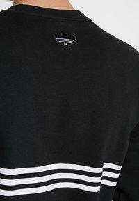 adidas Originals - OUTLINE PULLOVER - Collegepaita - black - 4