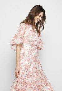 Lauren Ralph Lauren - PRINTED CRINKLE LONG - Occasion wear - colonial cream/pink - 5