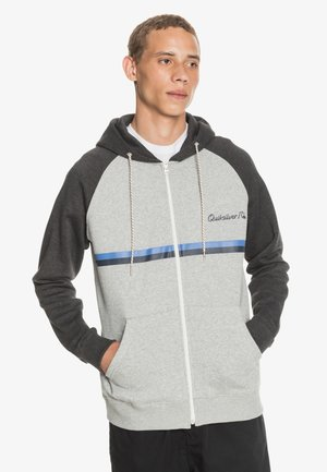 EVERYDAY SCREEN ZIP - Zip-up hoodie - light grey heather
