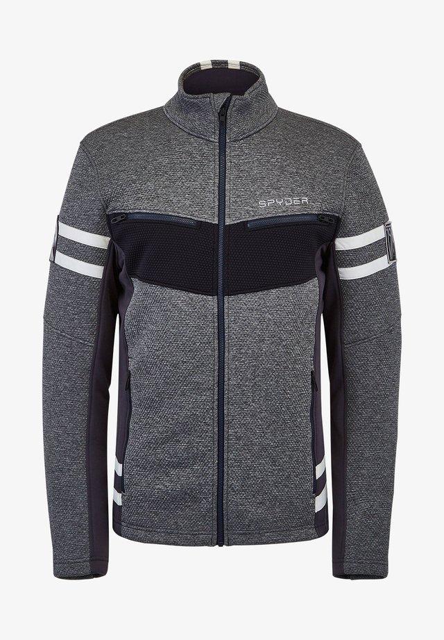 WENGEN ENCORE - Fleece jacket - anthrazit