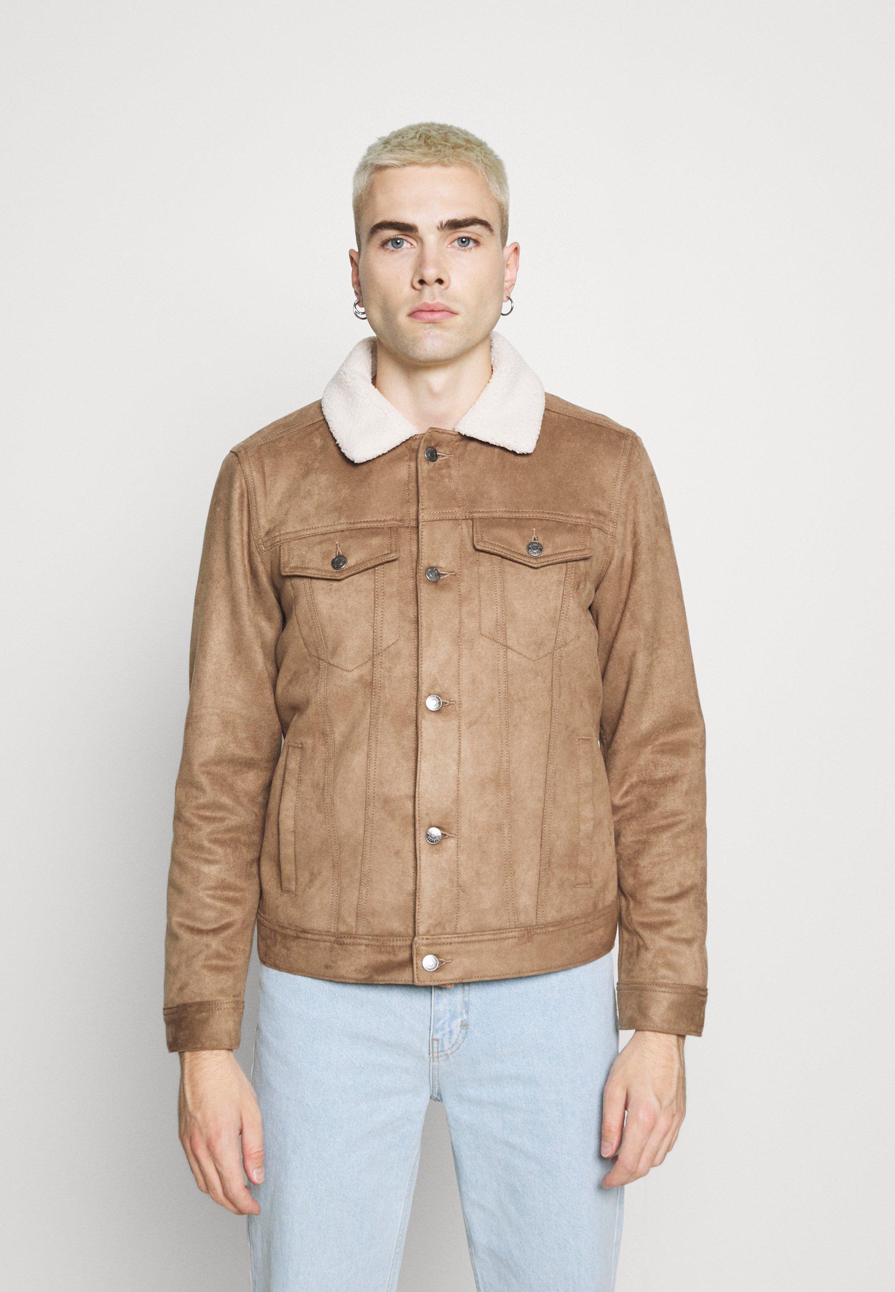 Men LINED TRUCKER - Light jacket