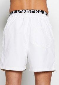 Jack & Jones - ARUBA - Shorts da mare - white - 2