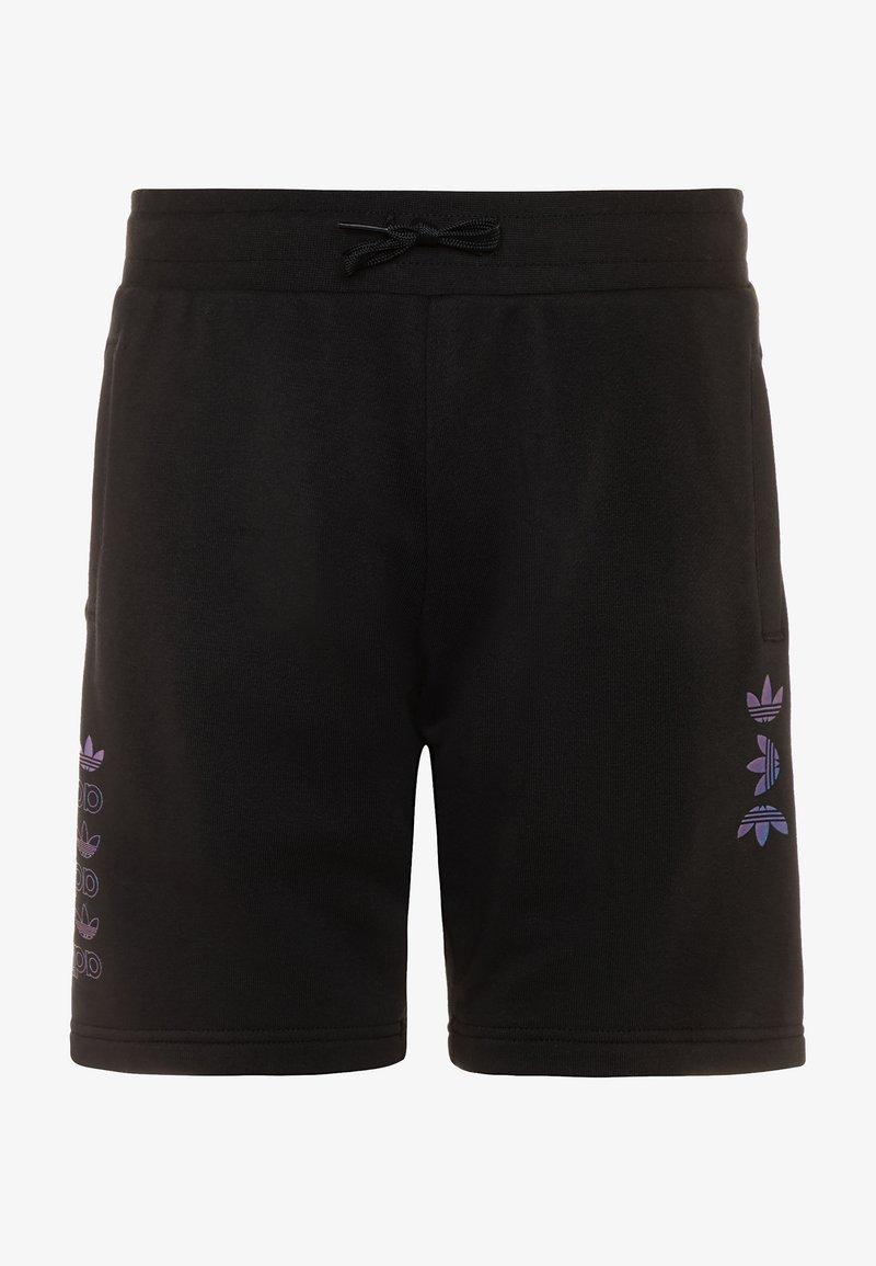 adidas Originals - LOGO - Pantalon de survêtement - black/royal blue