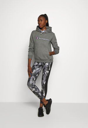 HOODED ROCHESTER - Hoodie - mottled grey