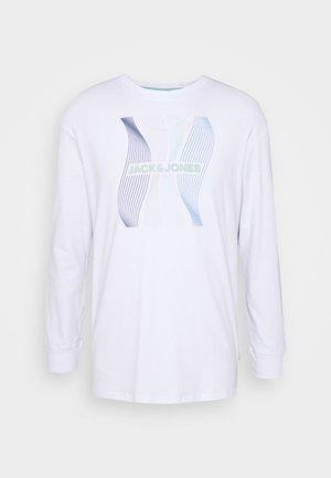 JCOSTEVEN TEE - T-shirt à manches longues - white