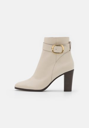 AMIN - Kotníkové boty - ivoire