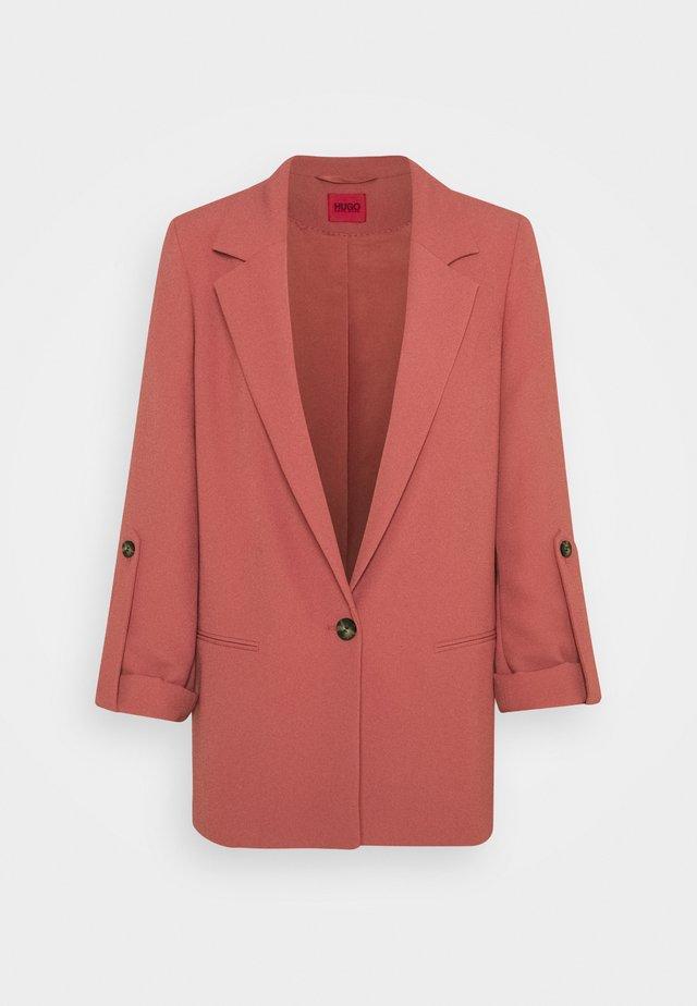 ALANAS - Short coat - medium red