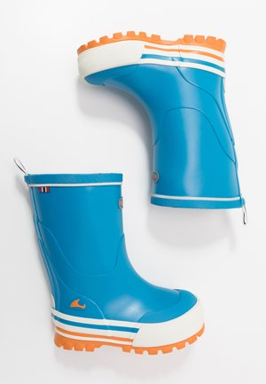JOLLY - Botas de agua - blue/orange