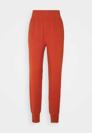 YASFONNY PANTS  - Tracksuit bottoms - auburn